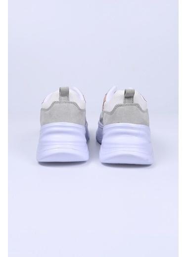 Female Project Beyaz Hakiki Deri Sneaker Beyaz